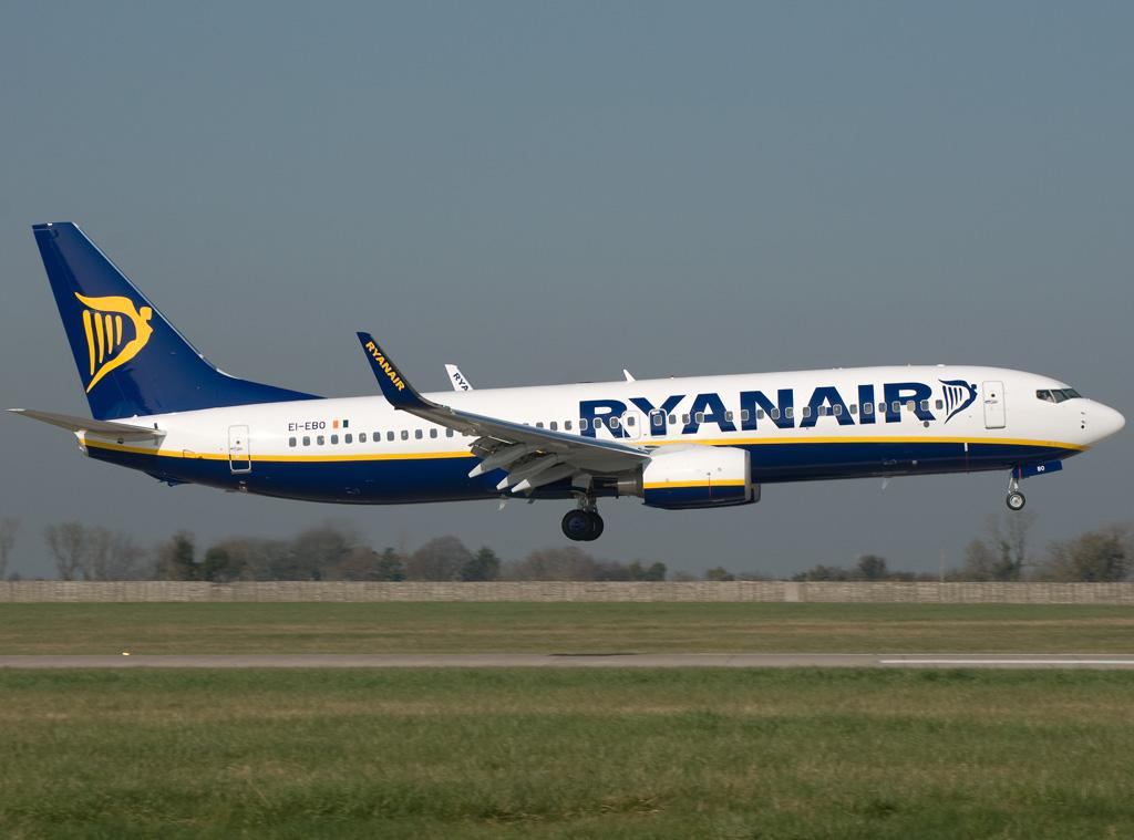 Лоукостер Ryanair расширяет базу в Вильнюсе