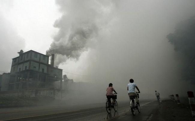 12 immagini shock dell'inquinamento in Cina. Pazzesco